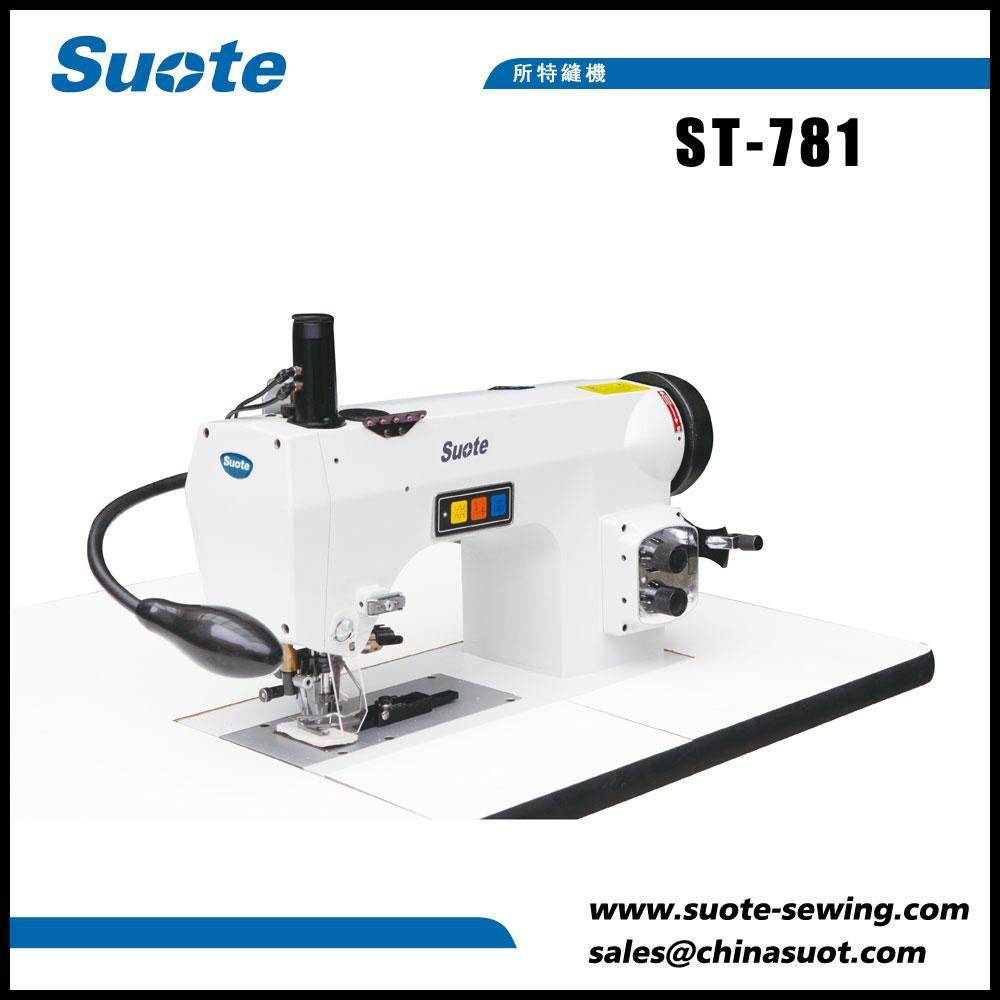 Máquina de costura industrial de mão-ponto