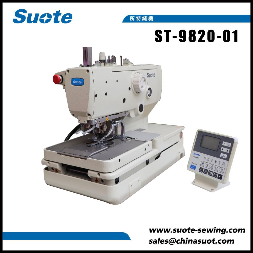 Máquina de costura eletrônica de Holer de botão de ilhó