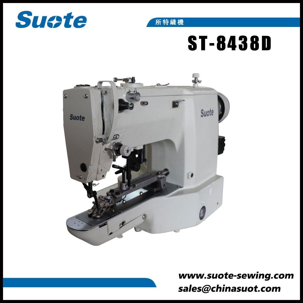 Máquina de costura de ponto de botão eletrônico