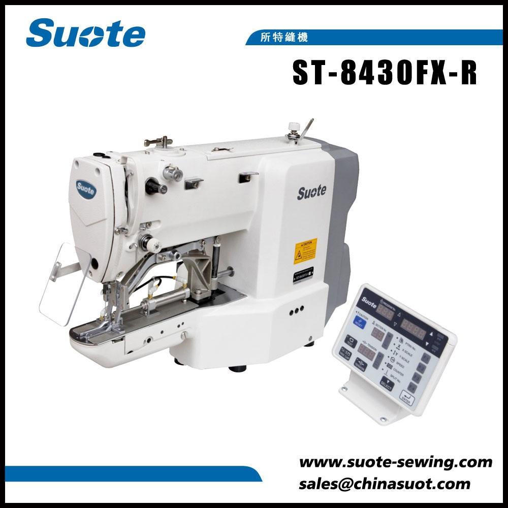 Máquina de costura de emenda de fita elástica eletrônica