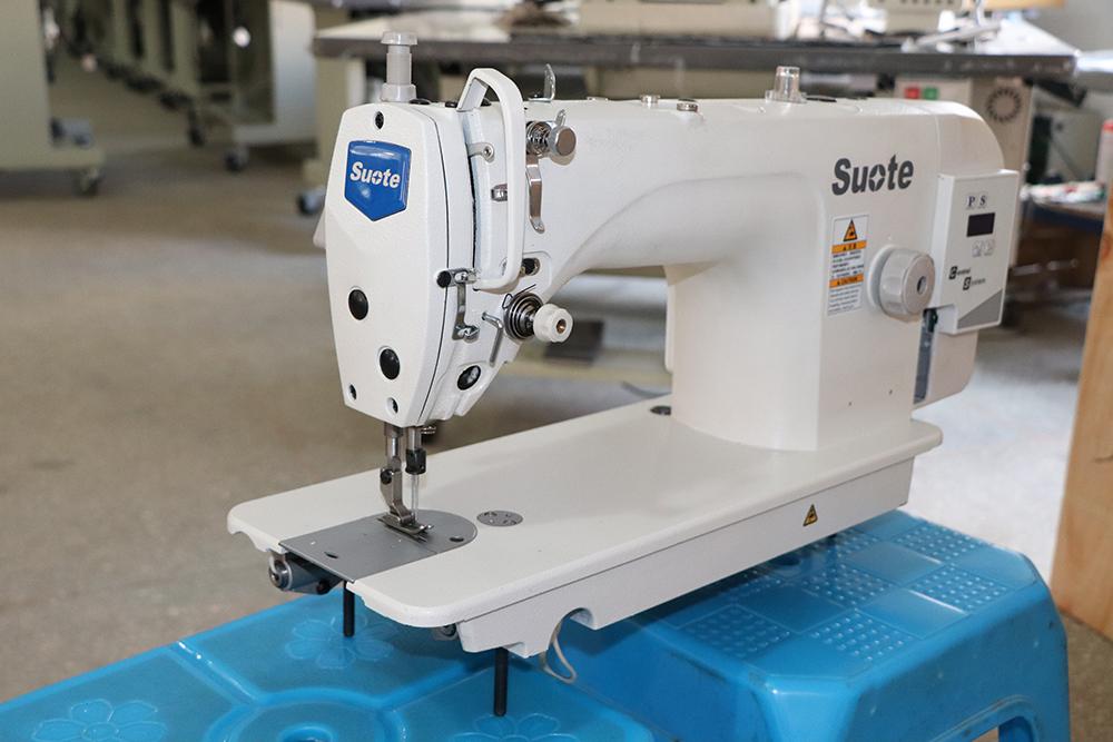 Ajuste da máquina de costura antes de usar