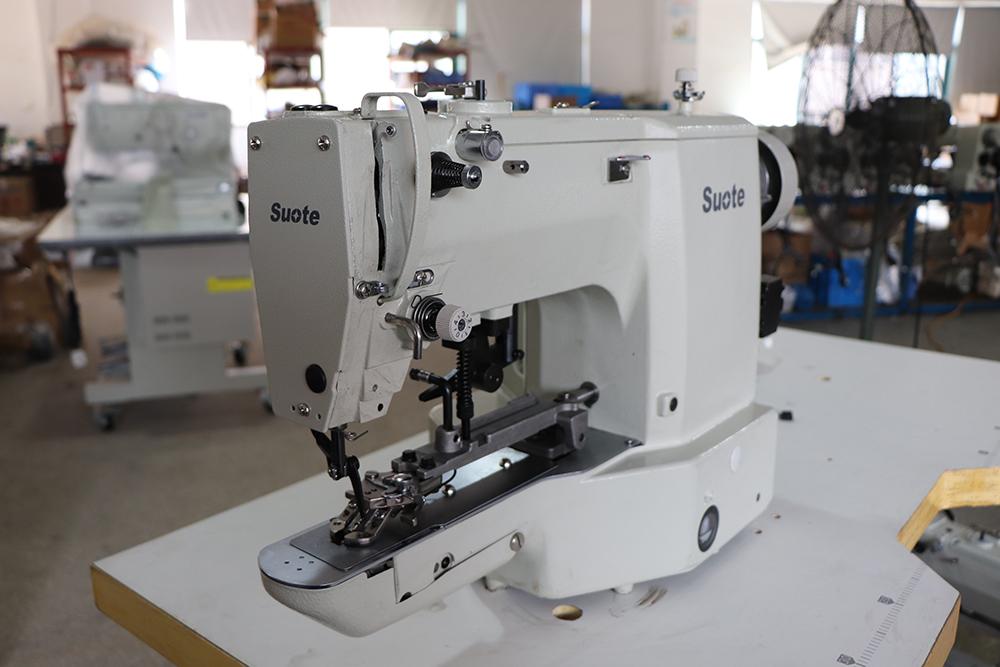 Preparação antes da máquina de costura